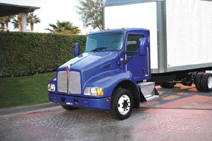 NEW OFFERING: Kenworth's new T300 will play a pickup and delivery role.