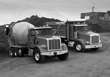 WORK HORSES: New vocational offerings from Peterbilt include the 365 and 367 pictured here.