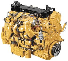 "MORE POWER: Caterpillar's new C15 boasts up to 625 hp, earning it the name ""King of the Hill."""