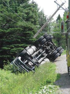 OOPS: The Quebec Table on Road Safety hopes to eliminate scenes like this one.