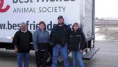 GOOD SAMARITANS: Heather Petersen and friends were instrumental in finding new homes for animals that were displaced by Hurricane Katrina.