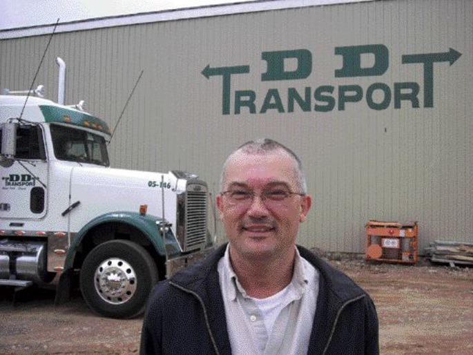 DOUBLE DUTY: Gord Peddle likes to keep his plate full, acting not only as the president and CEO of DD Tranport, but also serving on a number of boards, including the CTA, CTHRC and APTA.