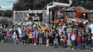Mack Trucks hosted some 250 youngsters at a special screening of the new Disney/Pixar movie CARS near its headquarters in Lehigh Valley.