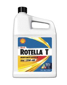 CLEANER: Shell officials claim your engine will run cleaner with Rotella T with Triple Protection, thanks to its increased ashless chemistry.
