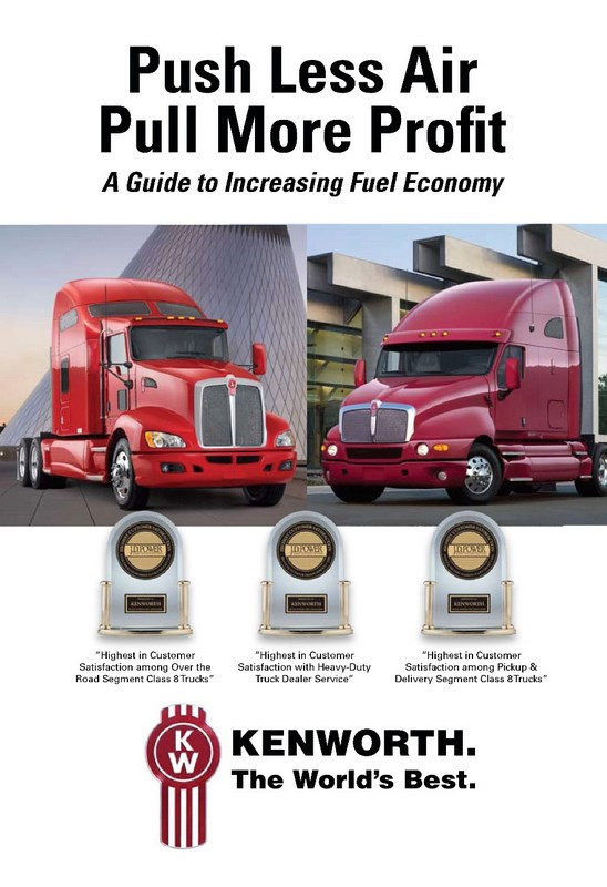 Kenworth has compiled some helpful tips for saving fuel.