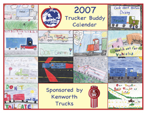 The 2007 Kenworth-Trucker Buddy calendar will be available beginning Dec. 15.