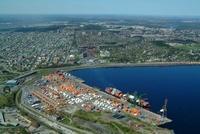 Halterm and Cerescorp (pictured) are making the move to larger ships at the Port of Halifax.