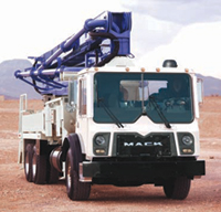 Mack is introducing a new TerraPro Cabover model for refuse and construction customers with application-specific features for concrete pumpers.