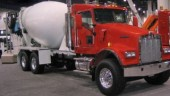 Kenworth's W900S mixer can now be spec'd with an extended day cab.