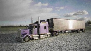 PICTURE PERFECT: Using a variety of effects and techniques, truck photographer Mark Gagnier is looking to improve the trucking industry's image (literally) with his unique style. Look for Gagnier's photos to be featured in upcoming issues of Truck News. All photos by Mark Gagnier