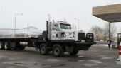 """Custom-built """"Brutus"""" arrived in Colorado recently to help tackle the mountain terrain."""