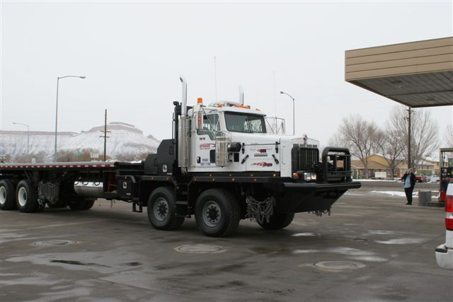 "Custom-built ""Brutus"" arrived in Colorado recently to help tackle the mountain terrain."