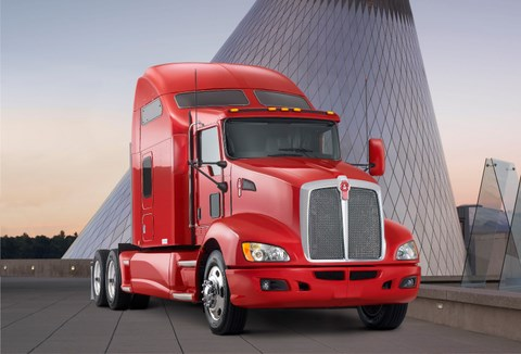 The new T660 was the focus of Kenworth's Walk-Around Sales Competition.