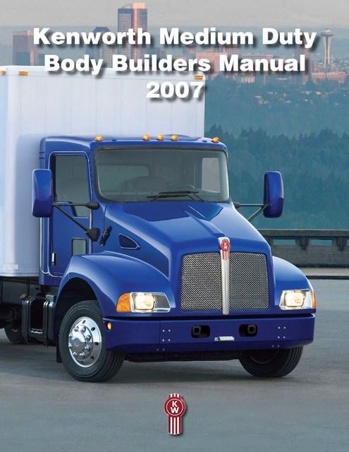 Medium Duty Body Builders Manual