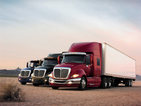 The new International ProStar comes equipped with Cummins ISX engines from 385 to 600 horsepower.