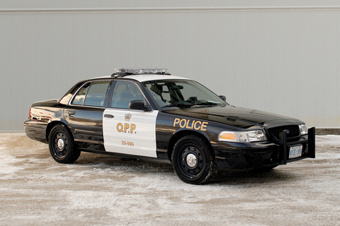 The OPP will soon be cruising around in new black and white vehicles.