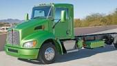 Kenworth's hybrid T270 is expected to improve fuel economy by 30%.