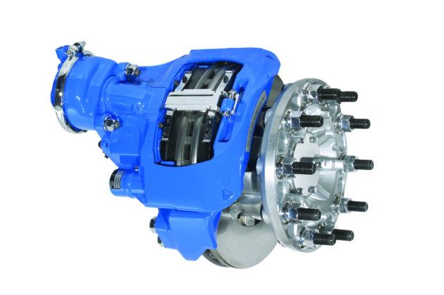 Bendix air disc brake.