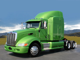 Peterbilt is developing a heavy-duty highway hybrid it says reduces fuel use by 4-7%.