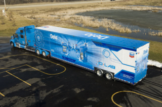 Chevron's new educational technology truck will be coming to Canada in April.