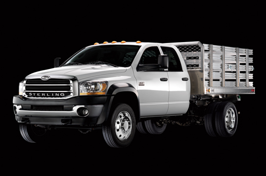 Sterling unveiled its new truck to the Canadian market and will be available in the fall of 2007.