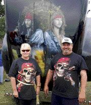 TOP SHOW TRUCK: This Pirates of the Caribbean-themed show truck was named tops this year by the National Association of Show Trucks.