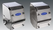 Carrier now offers chrome options for its APUs and refrigeration units.