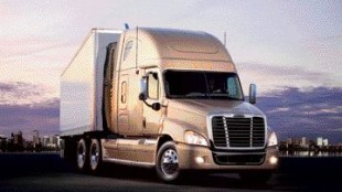 CURVY: Thousands of hours in the wind tunnel resulted in an aerodynamic design that improves fuel efficiency by 3%, Freightliner officials said.