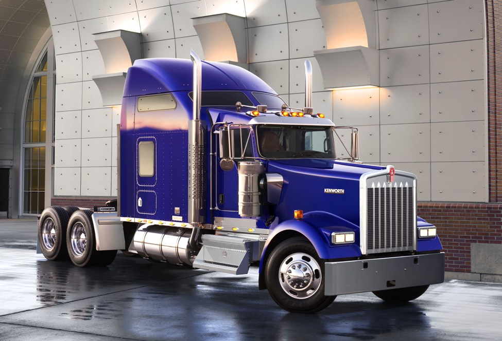The Kenworth W900 is one of the Class 8 models eligible for the Customer Loyalty Program.