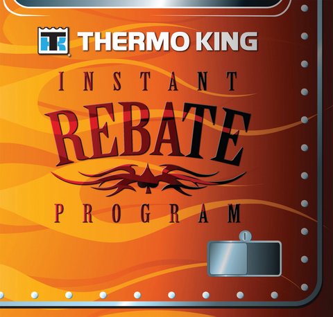 Customers can receive up to $100 cash back as part of Thermo King's instant rebate program.