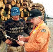 SAFETY FIRST: The logging industry says its workers need to change their attitude towards safety.
