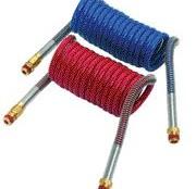 coiled air hoses