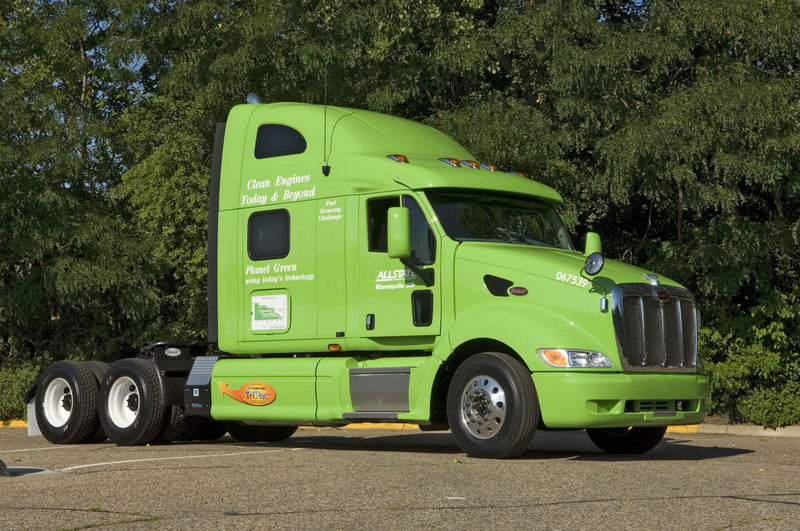Allstate's Green Machine is set out to prove environmentally friendly products can save fuel.