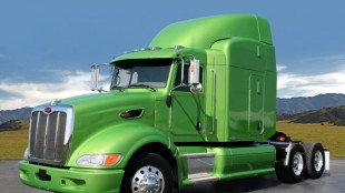 A heavy-duty hybrid offering from Peterbilt is expected to be available in 2010.