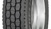 The new drive tire from Michelin is boasting a regenerated tread design.
