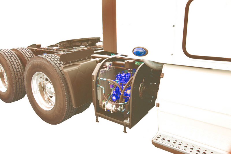 The 2008 RigMaster APU is outfitted with a DPF to further reduce particulate matter.