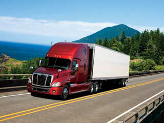 Freightliner says independent testing proves the Cascadia is the most aerodynamic truck in its class.