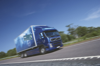 Volvo has developed seven CO2-free trucks that use a variety of different bio-fuels.