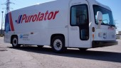 The new fully electric Purolator Quicksider