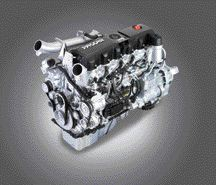 IN TESTING: This PACCAR 12.9L engine is currently being tested in Class 8 Kenworth tractors.