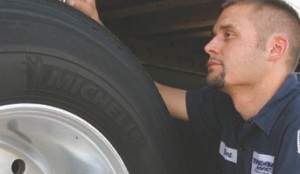 MONITOR IT: Measure tread depth and tire pressures to extend tire life.