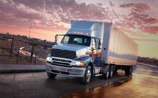 Sterling trucks now offer a quieter ride, the company has announced.