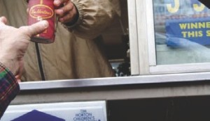 KEEP THE CHANGE: Truckers may not be happy about losing Tim Horton's locations that accommodate truck parking.