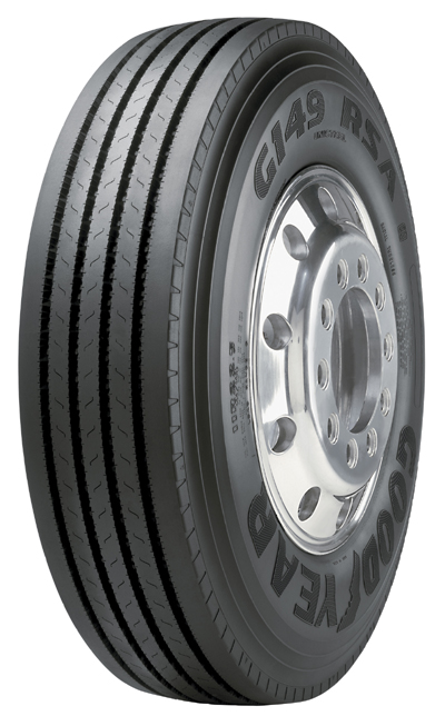 Goodyear's new G149 RSA RH is ideal for regional trucking applications, the company says.