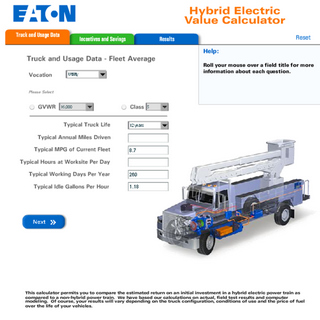 Eaton's new hybrid value calculator can help fleets determine whether or not the savings offered by hybrid trucks will offset the increased purchase price.