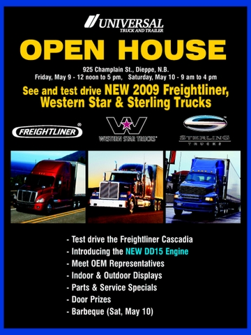 Open house flyer.