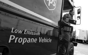 A NEW LOOK: UPS Canada is adding 139 propane-powered delivery trucks to its fleet, bringing its total worldwide green fleet to 1,629 vehicles.