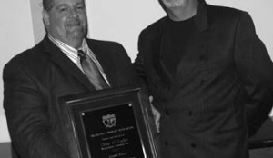 MORE MACKINNON: Doug Ladds (left) was named Company Truck Driver of the Year by TCA, while Ray Haight was crowned chairman of the association.