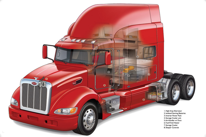 The Peterbilt ComfortClass system is now available in a 63-inch sleeper configuration.