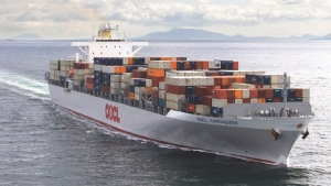 PRACTICAL?: The Fraser Port Authority would like to move containers from road to river in hopes of relieving congestion and reducing emissions.